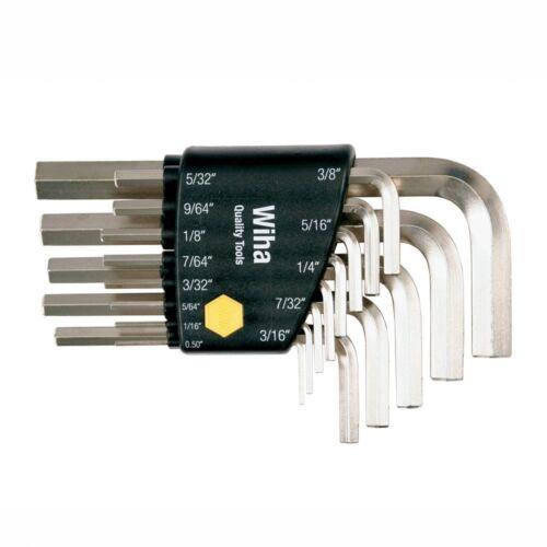 Wiha 35194 13-Piece L-Wrench Inch Hex Set