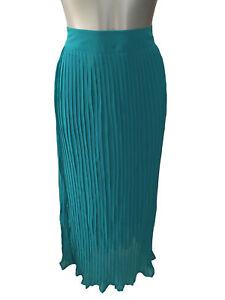 sports shoes 40995 d1061 Details zu NEU Damenmode Damen Chiffon Rock smaragd grün lang Abendmode  Gr.48 v sheego