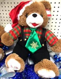 """2019 Walmart Snowflake Christmas Bear ~ Girl ~ 2019 ~ NWT ~ Brown  Bear 20"""""""