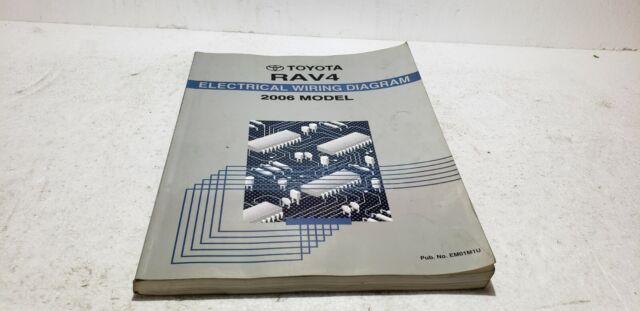 2006 Toyota Rav4 Dealer Service Electronic Wiring Diagram