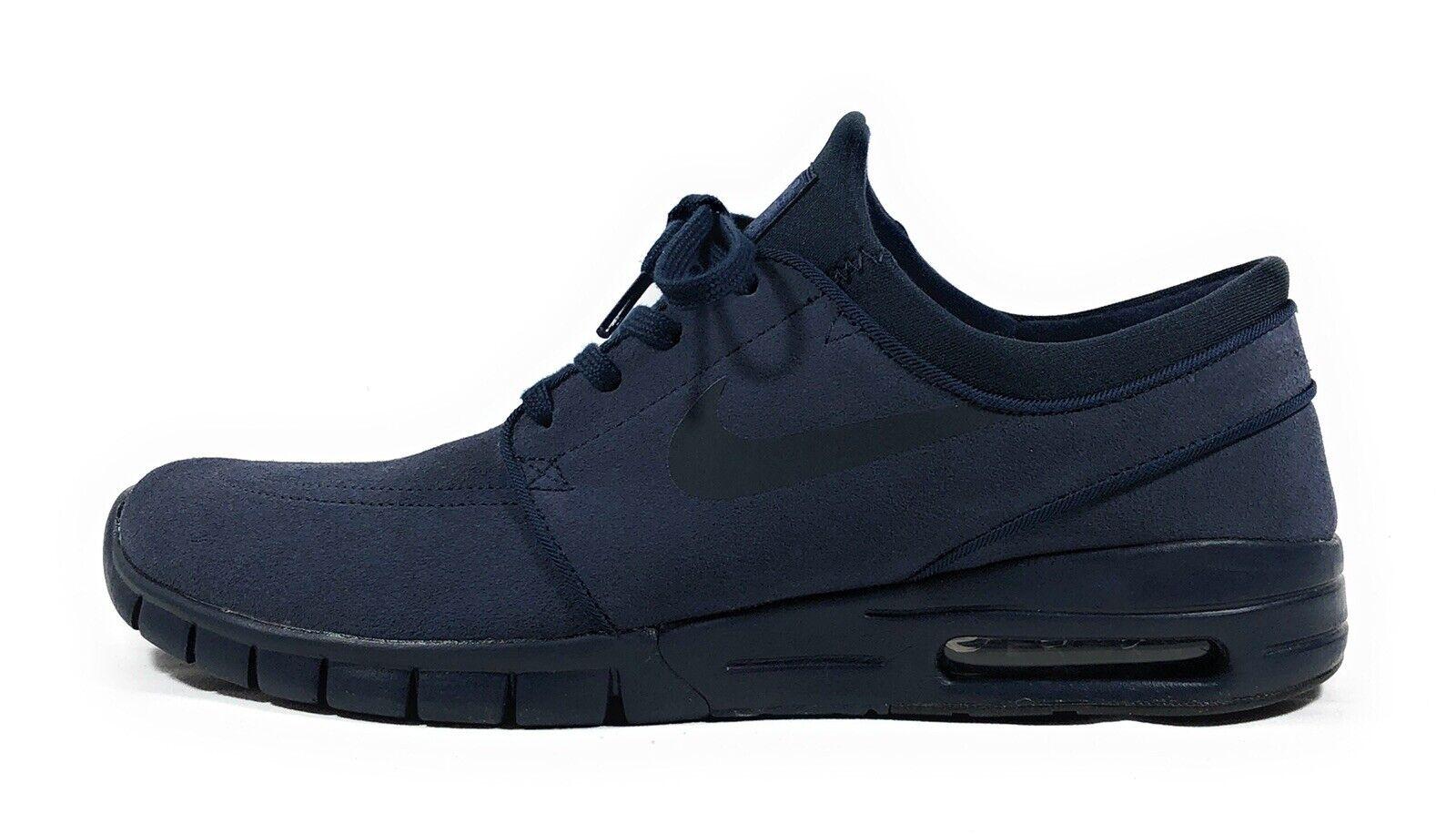 Nike SB Stefan Janoski Max L Hombre LOW TOP zapatillas de obsidiana 685299-440 Talla 10
