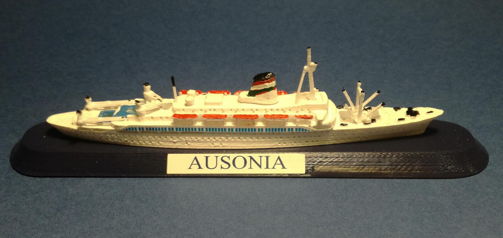 Siosa Bredhers Grimaldi SHIP AUSONIA EX. Adriatica to nav. Model SHIP 1 1250