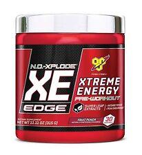 BSN N.O.-XPLODE XE EDGE Pre-Workout - 30 Servings NO Explode XE, FRUIT PUNCH