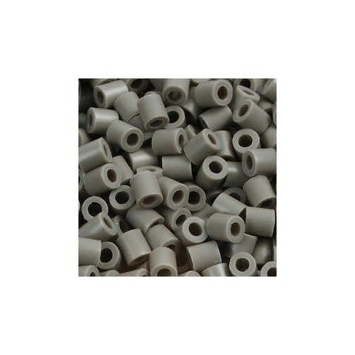 HOB-75508 PhotoPearls 1100pcs 8 size 5x5 mm hole size 2,5 mm ash-coloured