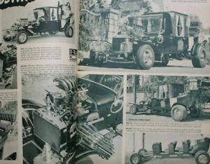 Hot ROD & CUSTOM 1965 The MUNSTERS Koach HEMI fEd Dragster Model Cars Slots vtg
