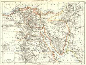 Lower Egypt Sinai Provinces Nile Valley Delta Railways