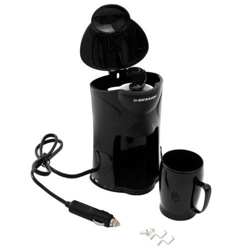 Dunlop 24V Kaffeemaschine Kaffeeautomat 250W mit Becher für Lkw Boot Camper