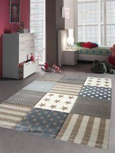 Bambini-tappeto-gioco-bambini-tappeto-tappeto-motivo-a-stella-contorno-tagliato