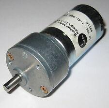 Buehler 12v 500 Rpm Heavy Duty Gearhead Dc Hobby Motor High Torque Output