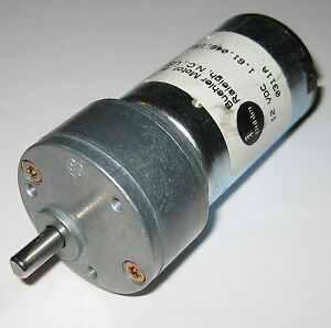 Details about Buehler 12V 500 RPM - Heavy Duty Gearhead DC Hobby Motor -  High Torque Output
