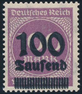DR-1923-MiNr-289-b-DD-tadellos-postfrisch-gepr-Dr-Oechsner-Mi-130