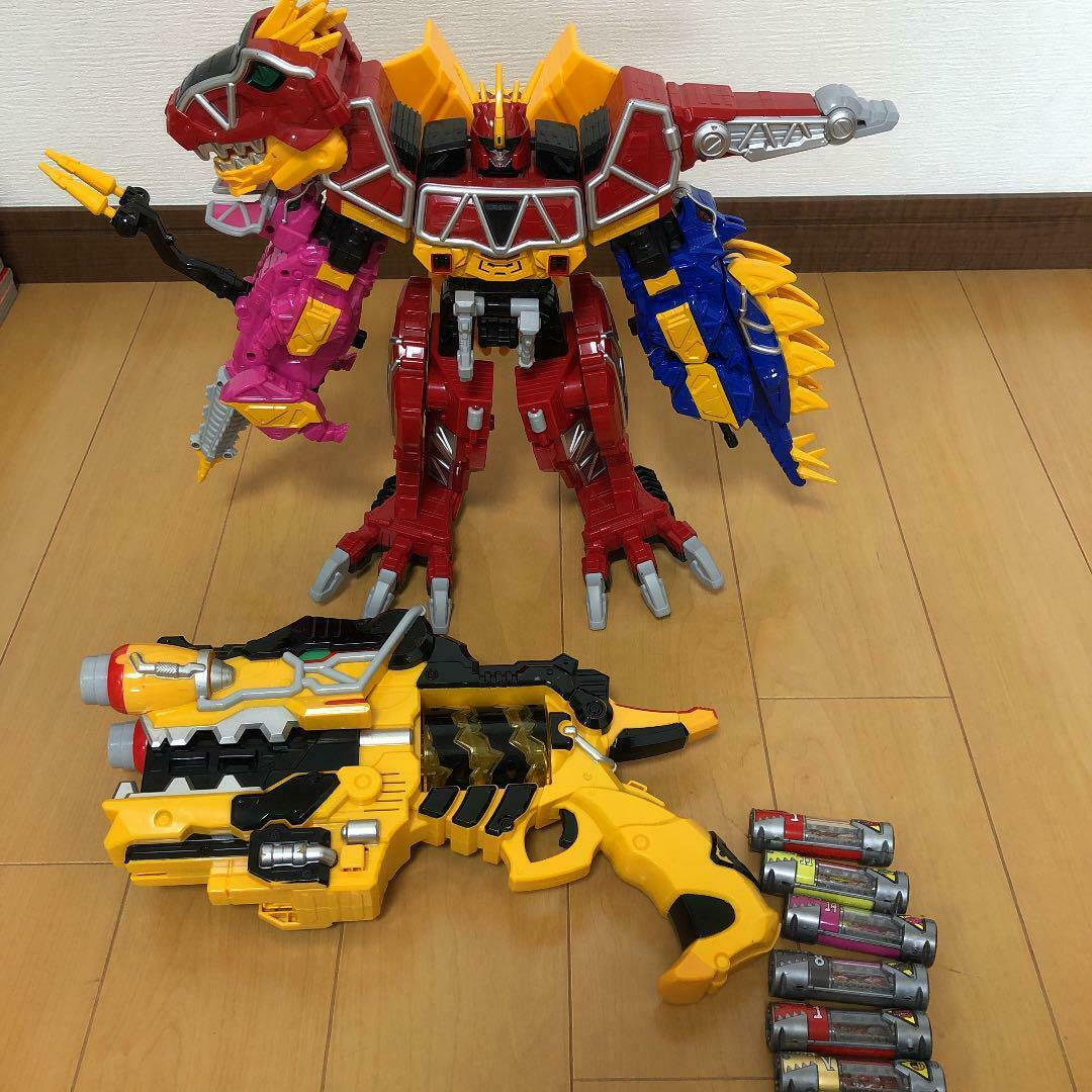 POWER RANGERS Dino Charge-Deluxe Megazord & Deluxe Dino Charge morpher Set