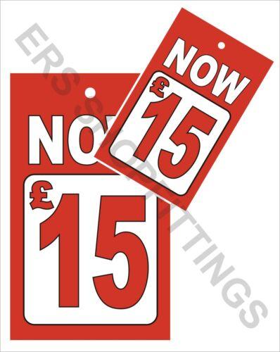 Schede di vendita £ 15 pistola di determinazione dei prezzi Pistola STAFFA Swing vendita biglietti