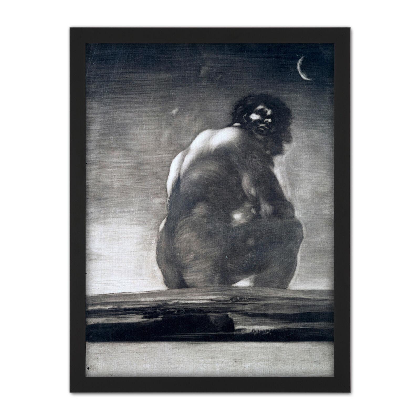 Francisco Goya Y Lucientes Seated Giant Large Framed Art Print