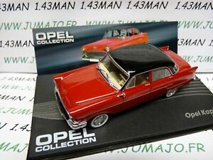 OPE24R-voiture-1-43-IXO-OPEL-collection-KAPITAN-1955-1958-bicolore