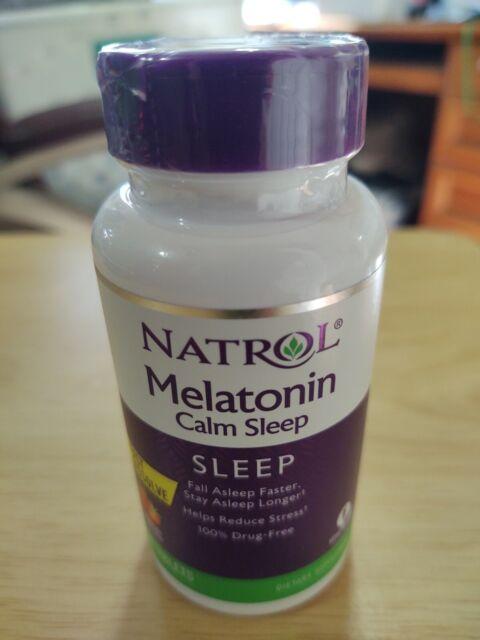 Melatonin Calm Sleep Natrol 60 Tabs
