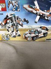 LEGO Creator 31034 Future Flyers Retired 3 in 1