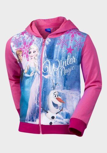 Girls Disney Frozen  Zip Hoodie  Age 3 years to 8 years