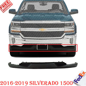 Front Lower Valance Air Deflector Textured For 2016 2018 Silverado 1500 Ebay