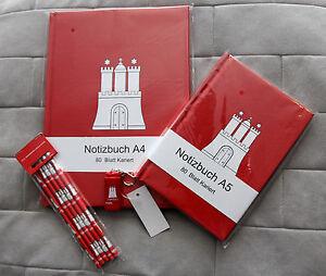 Hamburg Schreibset und Schlüsselangänger Notizbücher - Deutschland, Deutschland - Hamburg Schreibset und Schlüsselangänger Notizbücher - Deutschland, Deutschland