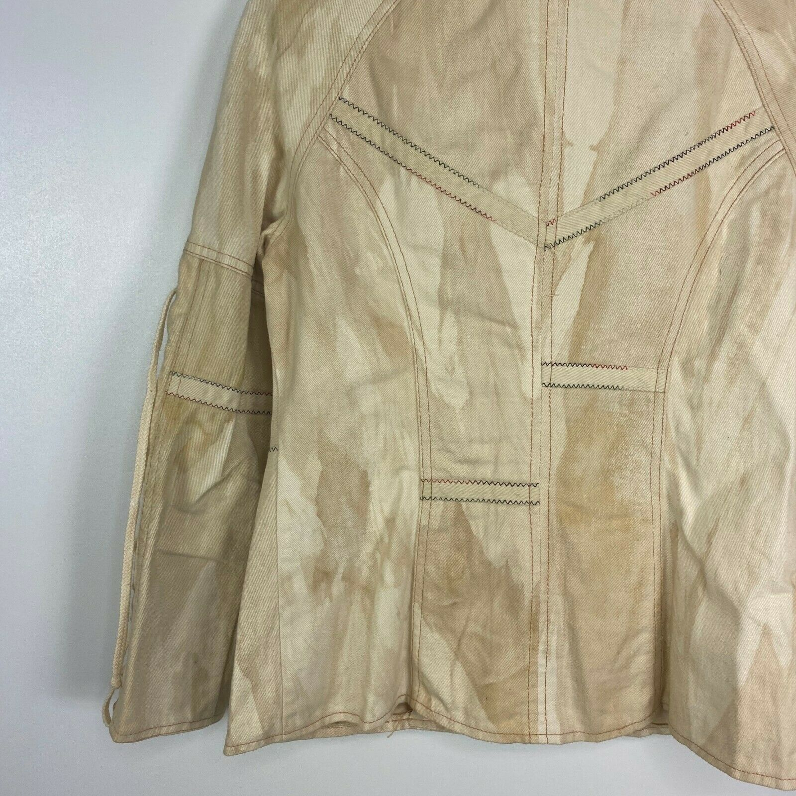 Vintage Roncelli Womens Size 11/12 Tie Sleeve Ful… - image 8