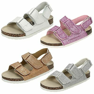 Girls Down To Earth Glitter Sandal H0050