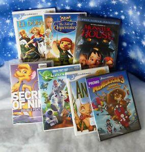 Animated Movies on DVD,All 7 Items, 8 Movies Antz, Monster House, Madasgar 3 NEW