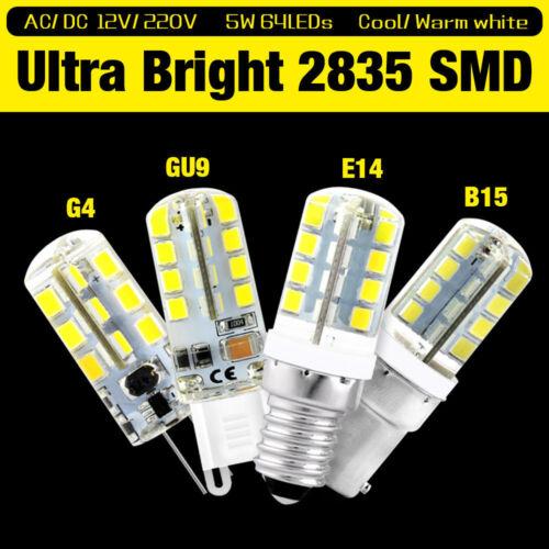G4 G9 E14 E12 B15 3//7//8//9W 12V//220V 2835SMD LED MAIS LICHT LAMPE GLÜHBIRNE BIRNE