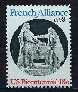 ESTADOS-UNIDOS-USA-1978-MNH-SC-1753-US-Bicent-French-Alliance
