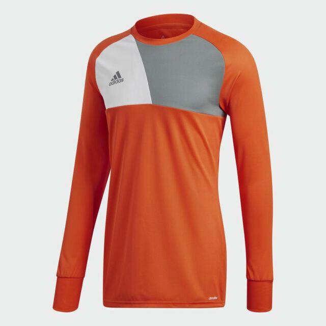 adidas Men's Assista 17 Goalkeeper Jersey AZ5398 Orange Size Large ...