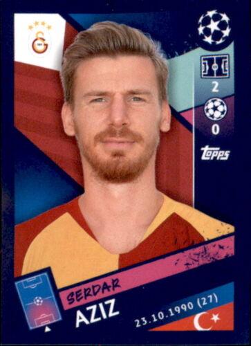 Serdar Aziz Topps Champions League 18//19 Sticker 464