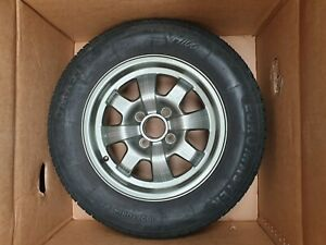 PORSCHE-924-14-034-SPARE-ALLOY-WHEEL-WITH-TYRE-VW-AUDI