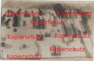 WK1-Foto-franz-Blindgaenger-Waffen-Beute-Granaten-Pistolen-Gewehr-usw-2214