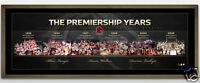Brisbane Broncos 'the Premiership Years' Signed And Framed