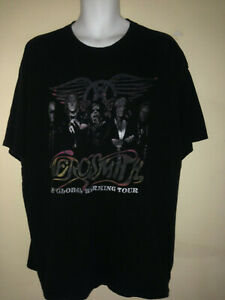 AEROSMITH-THE-GLOBAL-WARMING-2012-TOUR-2XL-T-SHIRT-ROCK-VTG-OUT-OF-PRINT