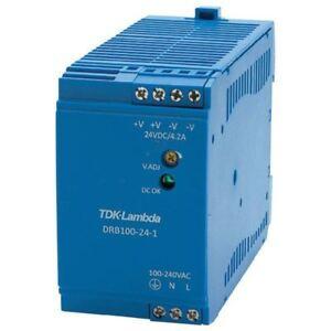 TDK-Lambda-drb-100-24-1-Guia-DIN-Suministro-Electrico-24-28v-4-2a