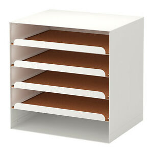 l'ultimo 694b3 f5b6d Details about USEFUL IKEA KVISSLE Letter tray, white