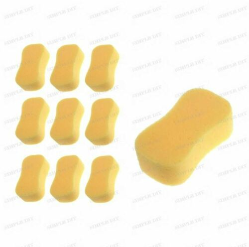 9 x SUPER Calidad Esponja Jumbo Sintético Limpieza Valeting Coche Van casa de lavado