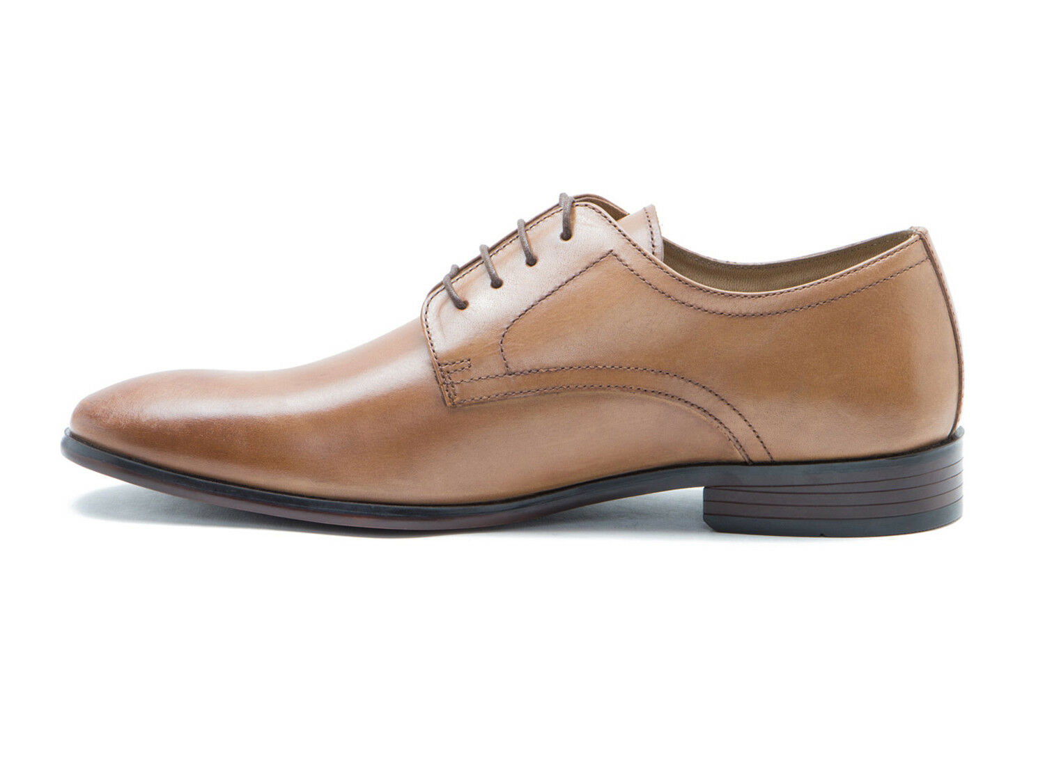 Red Tape Silwood Brown Leather Mens Formal Derby Shoes Free UK P/&P RRP £45!