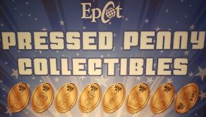 Disney-Pixar-039-s-Inside-Out-Epcot-Mouse-Gears-Complete-Set-Eight-Pressed-Pennies