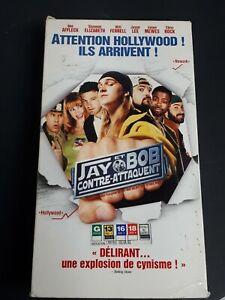 Jay-And-Silent-Bob-Strike-Back-VHS-French-Version-2002-Comedy-Ben-Affleck