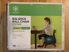 Bonus Gaiam Classic Gym Yoga Exercise Fitness Balance Ball Office Desk Chair