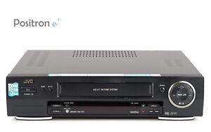 JVC-HR-J658-VHS-Videorecorder-gewartet-1-Jahr-Garantie-gut