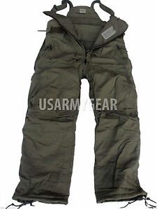 US-Army-Super-Warm-CW-Cold-Weather-Insulated-BiB-Overall-Military-Cargo-Pants-30