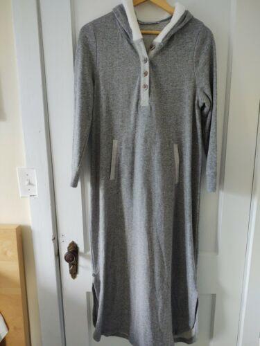 Soft surroundings hugs Pajamas Hooded Gray Petite