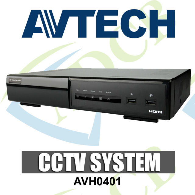 New Avtech AVH0401 4 Channel Plug-n-Play POE NVR IP Recorder