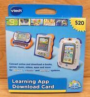 Vtech Learning App download Card mobigo vreader innotab Toys