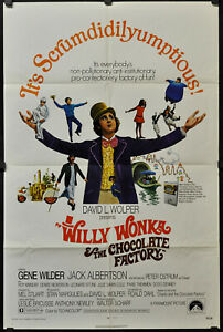 WILLY-WONKA-AND-THE-CHOCOLATE-FACTORY-1971-ORIG-27X41-MOVIE-POSTER-GENE-WILDER