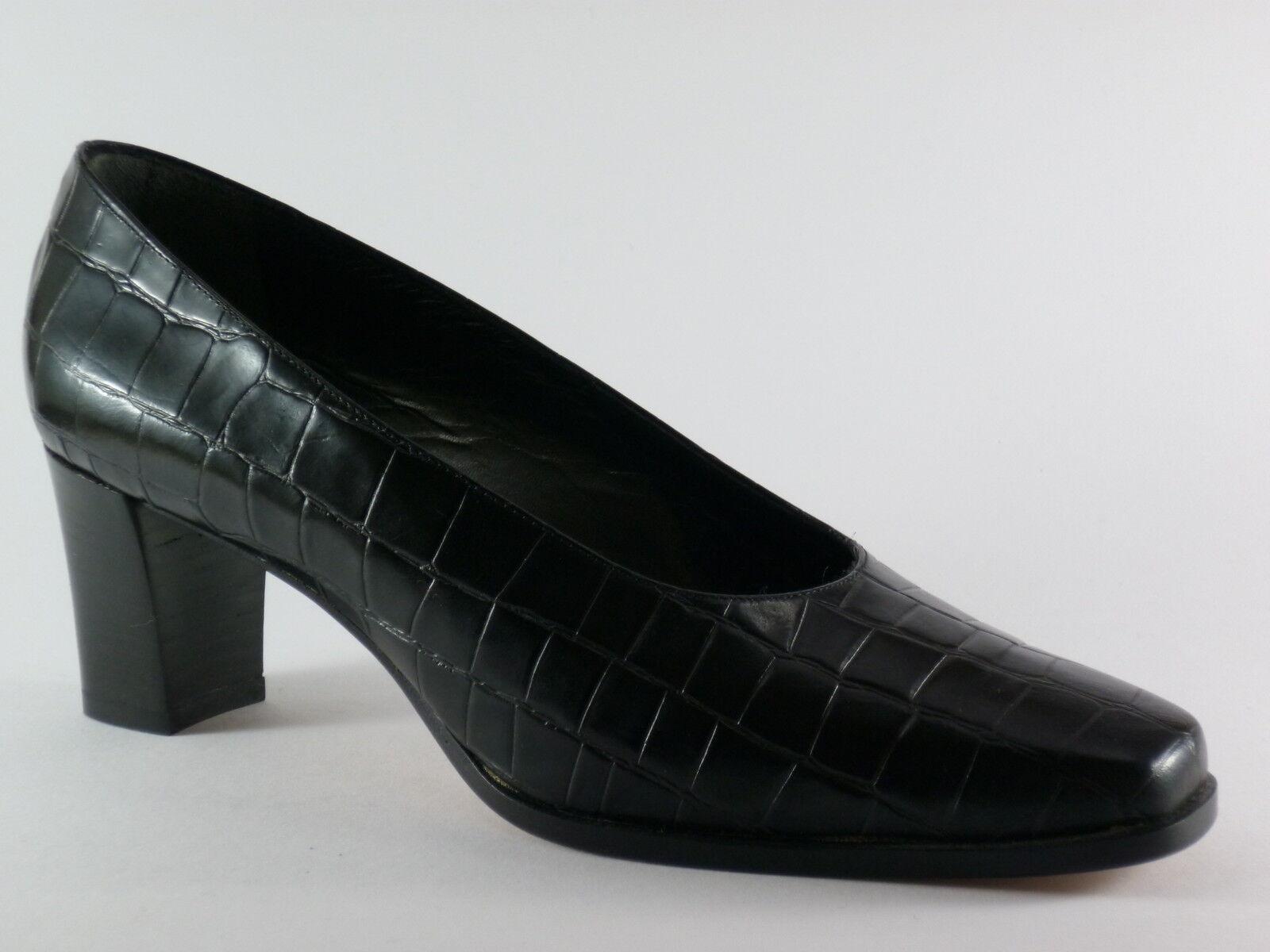 Marcello Giovannetti Zapatos señora 40 cuero cuero cuero negro noche Zapatos pumps nuevo  más vendido