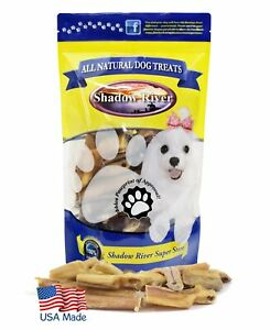 Shadow River REGULAR Bully Bites for Dogs - 100% USA Beef Bully Stick Pieces 1lb